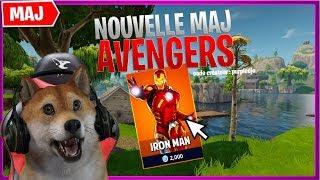 Nuovo Maj Fortnite x Avengers Endgame Gameplay, Thanos - Nuova Pelle