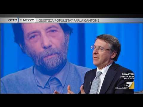 Otto e mezzo - Giustizia populista? Parla Cantone (Puntata 31/01/2017)