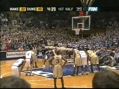 J.J. Redick 38 points vs Wake Forest