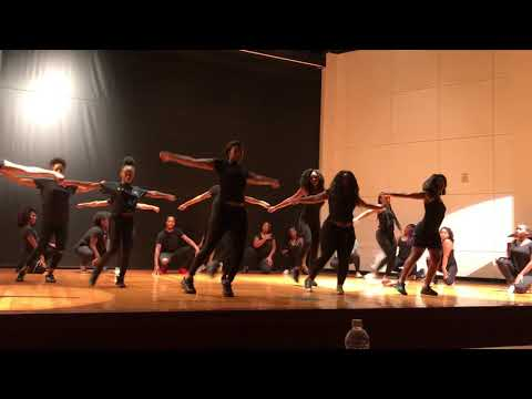 """2XCLUSIVE HIP HOP DANCE TEAM PERFORMS AT """"WRAP IT UP DEN"""" AT NORFOLK STATE UNIVERSITY"""