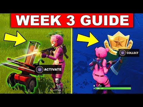 Fortnite WEEK 3 SEASON 5 CHALLENGES GUIDE! – FOLLOW THE TREASURE MAP FOUND IN FLUSH FACTORY