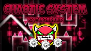 Geometry Dash Demon [Medium] - Chaotic System - by GironDavid (All Coins)