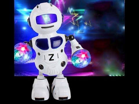 Dancing Robot Smart Space Music Light Toy