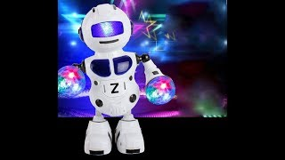 Dancing Robot Smart Space Music Light toy