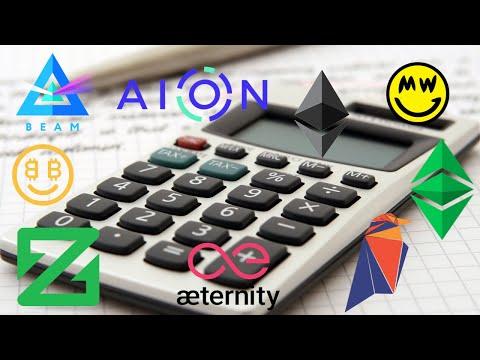 Crypto Mining Profitability Calculator Websites?