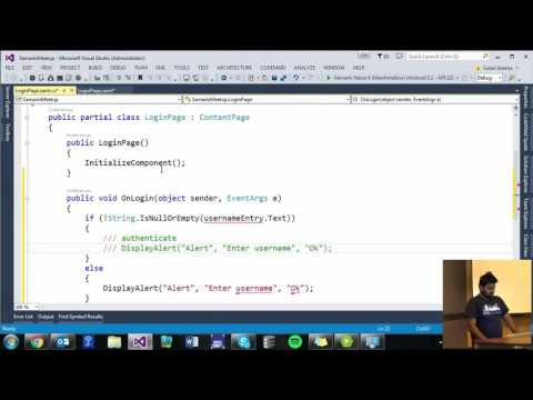Getting Started with Xamarin - .NET Developers Singapore