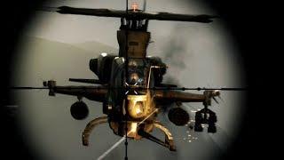 .50 Cal Sniper Vs Helicopter! Sniper 3D Assassin Gabe's Crossing