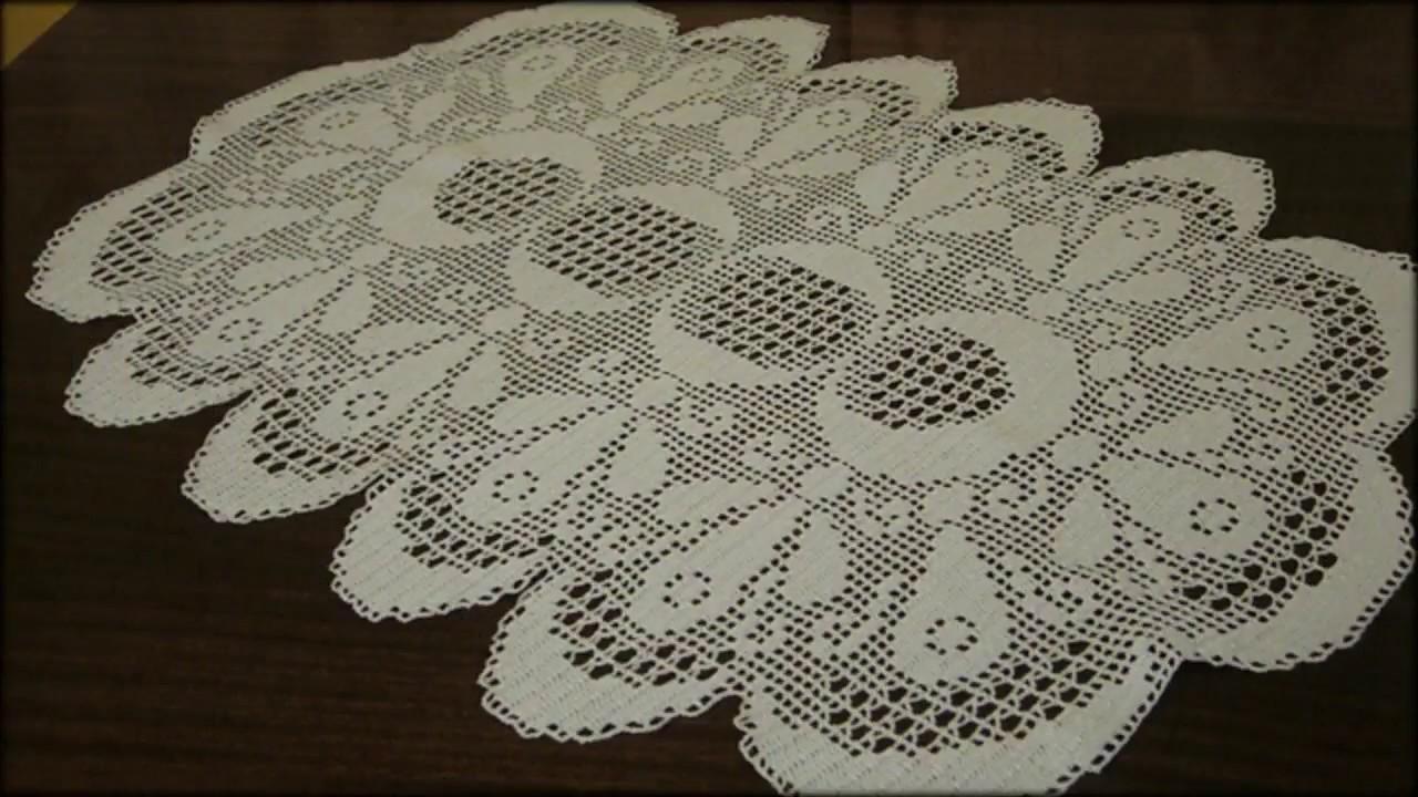 филейное вязание салфетки и скатерти связанные крючком подборка 4 1000 и 1 узор