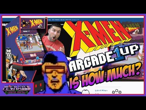 X-Men Arcade1Up Pre-Order News from MichaelBtheGameGenie