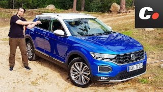 Volkswagen T-Roc 2018 SUV   Primera Prueba / Test / Review en español   coches.net Video