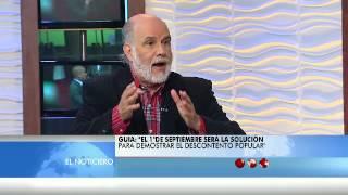 La Entrevista El Noticiero Televen - Primera Emisión - Jueves 25-08-2016