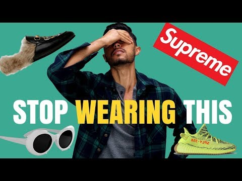 7 Fashion Trends That Should DIE In 2018
