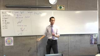 Graphing Log Function with Calculus (1 of 3: Finding Domain and Derivative)