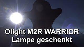 Olight M2R WARRIOR Lampe geschenkt