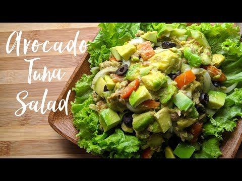 Tuna, Lemon and Avocado Salad