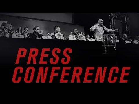 UFC 196 Press Conference: McGregor vs Diaz