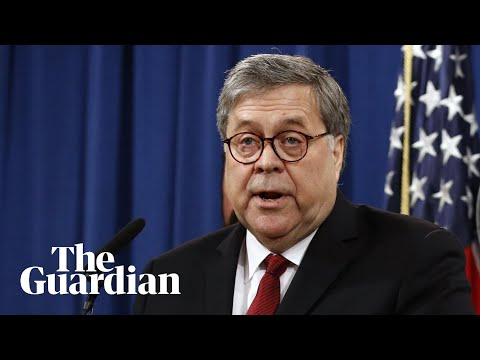 Attorney general Barr faces senate questions over Mueller report – watch live