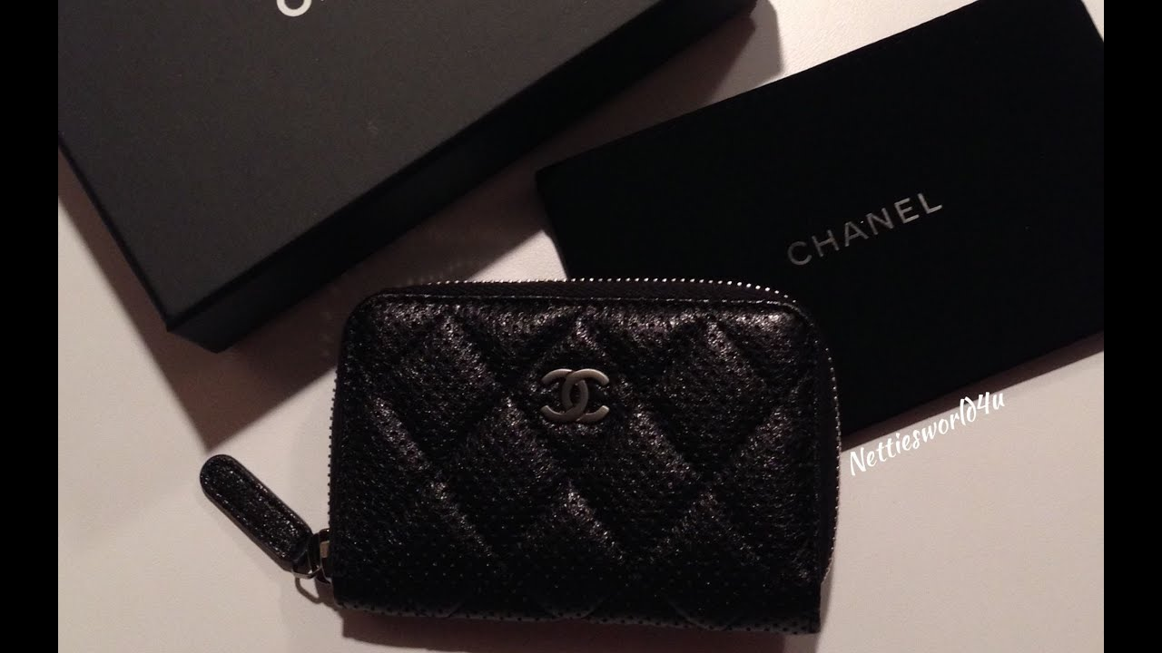 chanel zip coin purse. chanel zip coin purse a