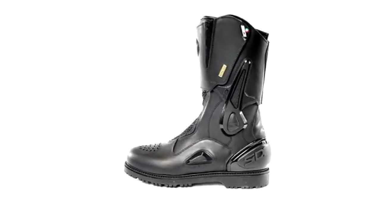 Sidi Aria Gore Tex Boots - ChampionHelmets.com - YouTube