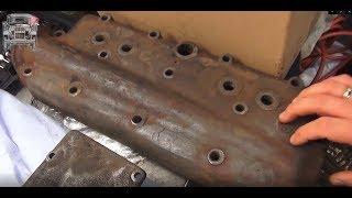 ПОЛУТОРКА: Что происходит с металлом пролежавшим 75 лет под водой?