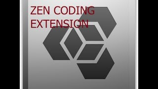 Zen coding Plugin for Dreamweaver to code out Super Quick in html / css