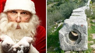 Каменные трубы на родине Санта Клауса!
