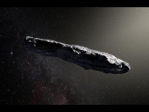 First Scans on Oumuamua Show No Signs of Alien Technology