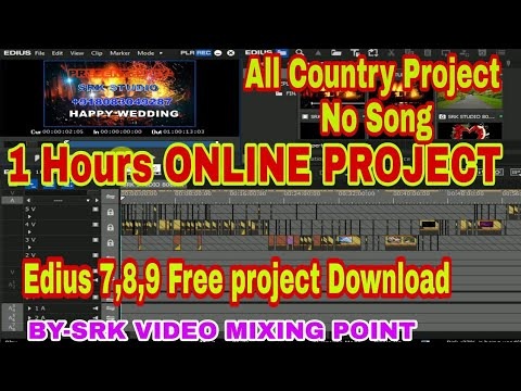 1 hours edius 7,8,9 project free download,edius 1hours online song project free download,edius proje