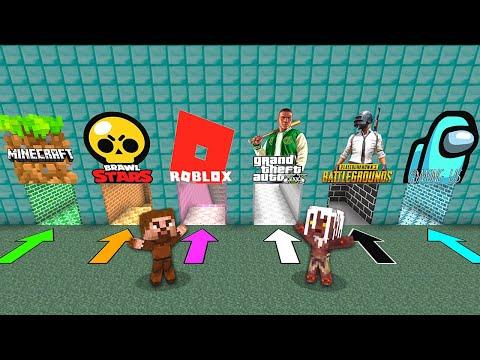 YANLIŞ OYUN MAĞARASINI SEÇERSEN ÖLÜRSÜN! 😱 - Minecraft