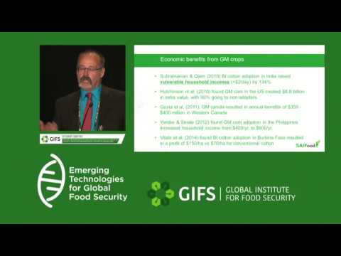 GM Crops, Regulatory Delays & Trade by Stuart Smyth at #GIFSconf2016: Day 2 - 11:15-12:00