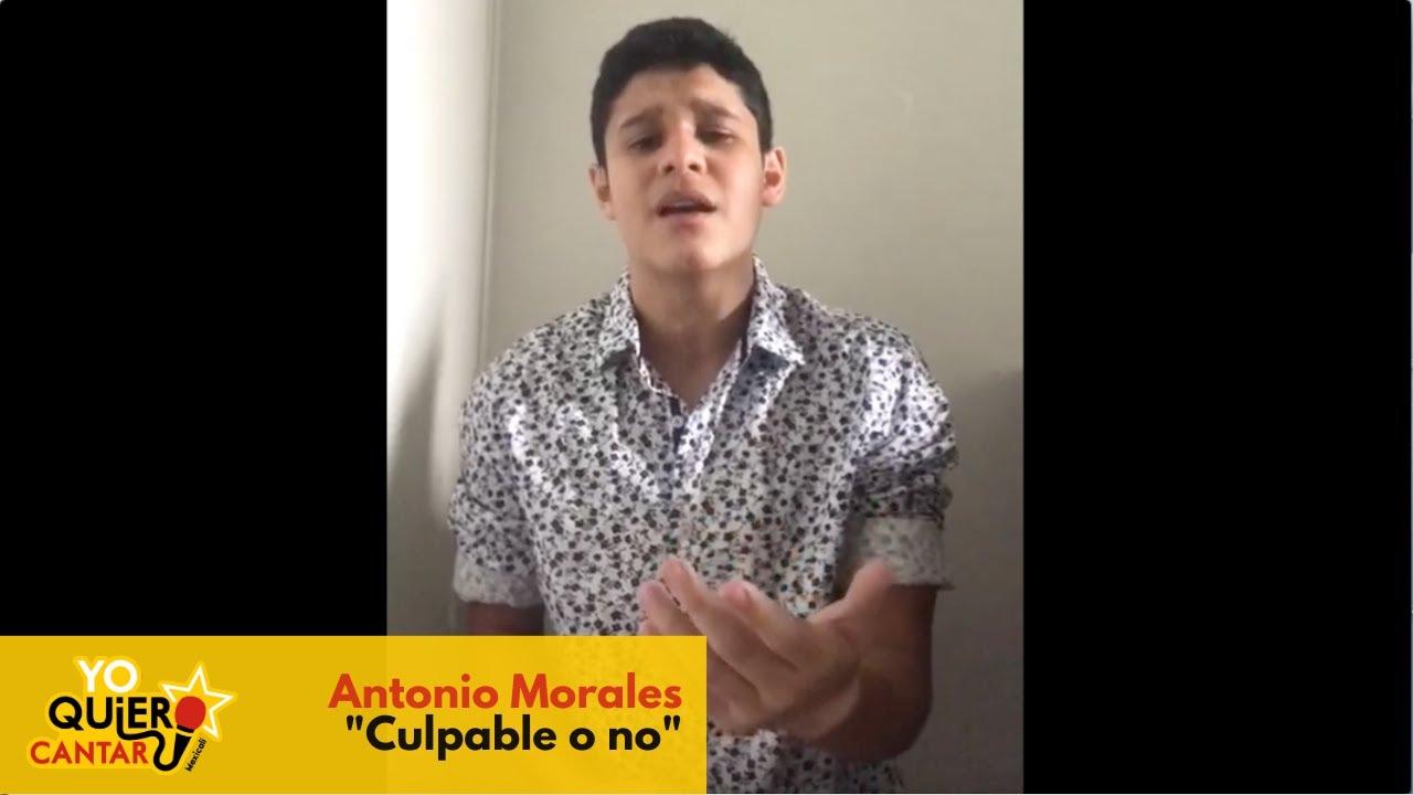 Antonio Morales - Culpable O No (cover Luis Miguel)