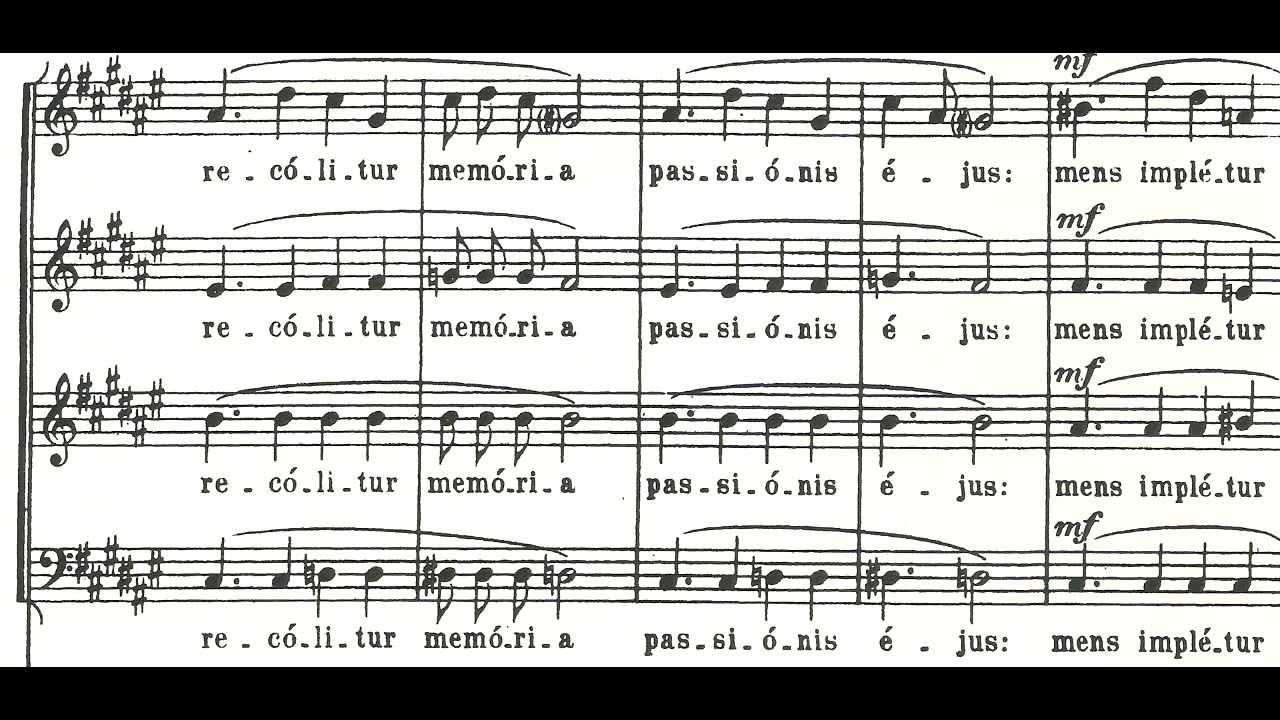 Download Messiaen - O Sacrum Convivium