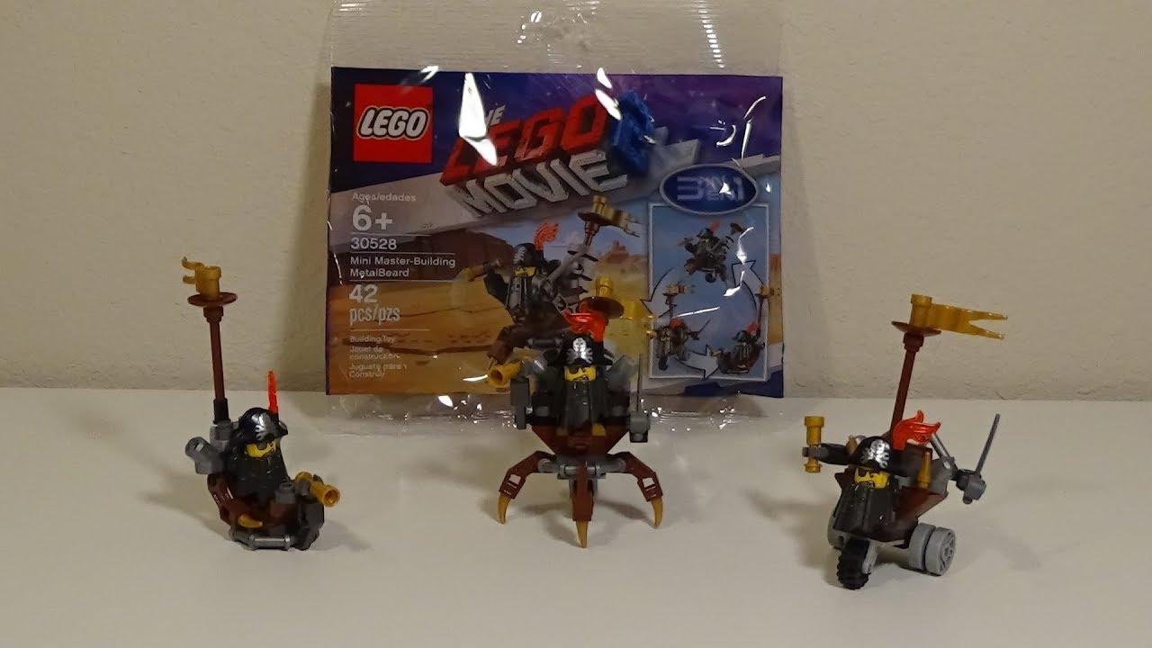 LEGO 30528 The Lego Movie 2 Mini Master-Building MetalBeard 3in1 Build New
