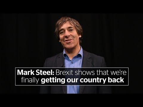 Mark Steel: The success of the Brexit negotiations show that we're finally getting our country back