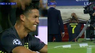 Cristiano Ronaldo RED Card vs Valencia UEFA Champions Leauge 2018/19