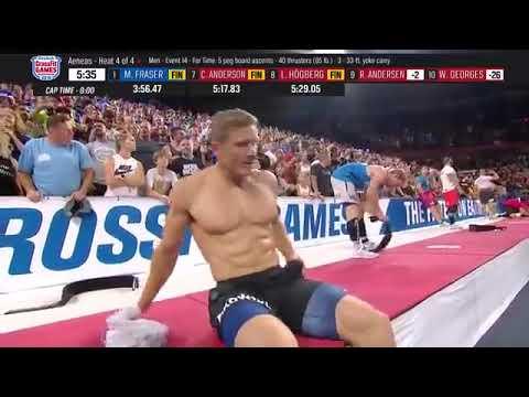 Crossfit Games 2018 Men S Final Event 14 Heat 4 4 Fraser