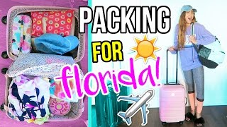 Packing And Flying To Florida!!