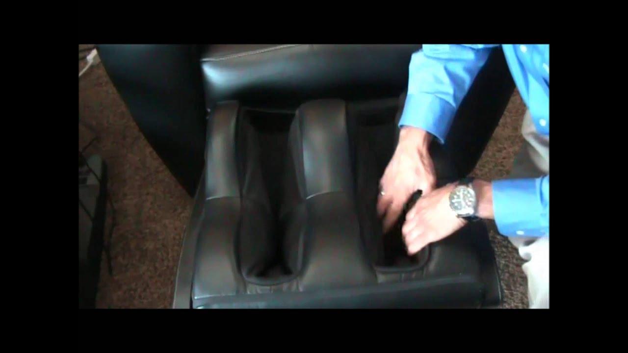 Foot Calf Massager Human Touch Ht 9500x Massage Chair Youtube