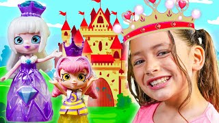 Shopkins Happy Places Royal Trends - We Have to Get Ready for the Royal Party!