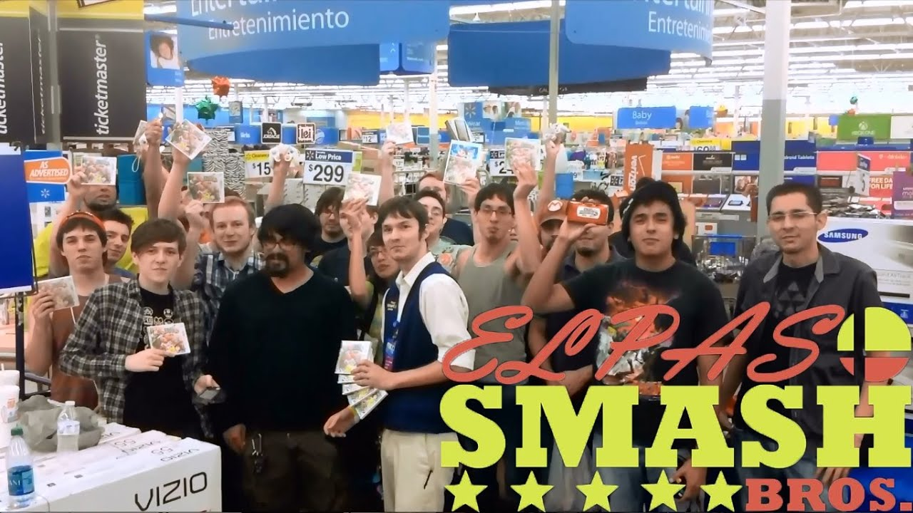 El Paso Smash Bros At Walmart Midnight Release For Super
