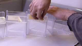 Removing adhesive from acrylic, plastic, and glass without damage.  Fish Tanks, etc.