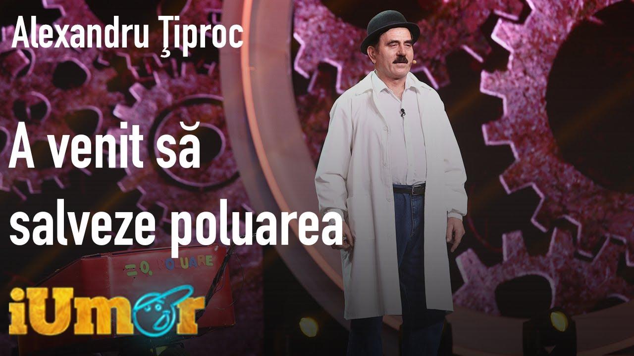 Alexandru Ţiproc a venit să salveze poluarea, la iUmor! Mihai Bendeac a râs cu lacrimi!