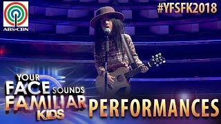 Your Face Sounds Familiar Kids 2018: Onyok Pineda as Freddie Aguilar | Bulag, Pipi, at Bingi