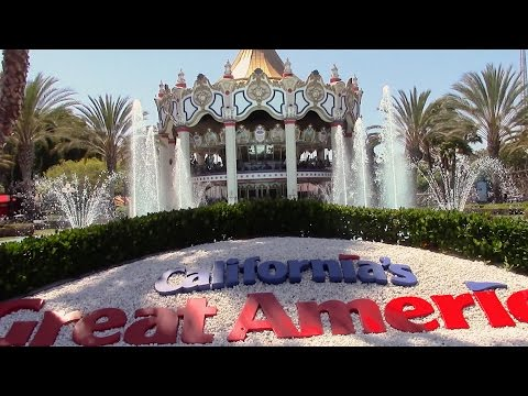 California's Great America Review Santa Clara Amusement Park
