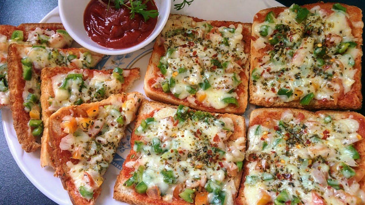 Image result for ब्रेड पिज्जा