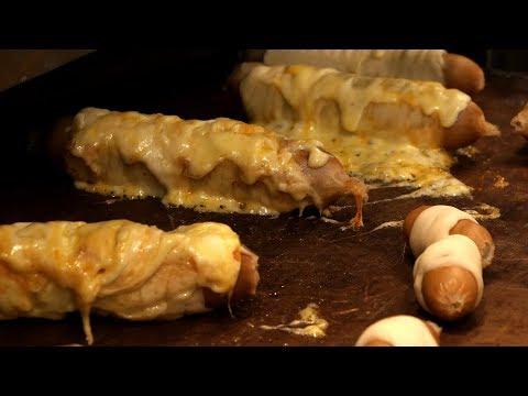 치즈 소세지빵 cheese sausage bread / korean street food