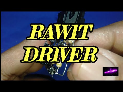 How To Make RAWIT DRIVER