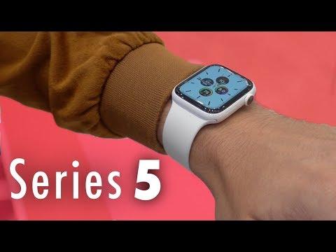 Apple Watch Series 5 - Prise en main