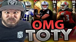 TEAM OF THE YEAR!! HUGE PACK OPENING - MADDEN 17 ULTIMATE TEAM PACK OPENING