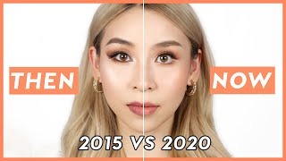 How I Used To Do My Makeup THEN VS. NOW  | TINA YONG